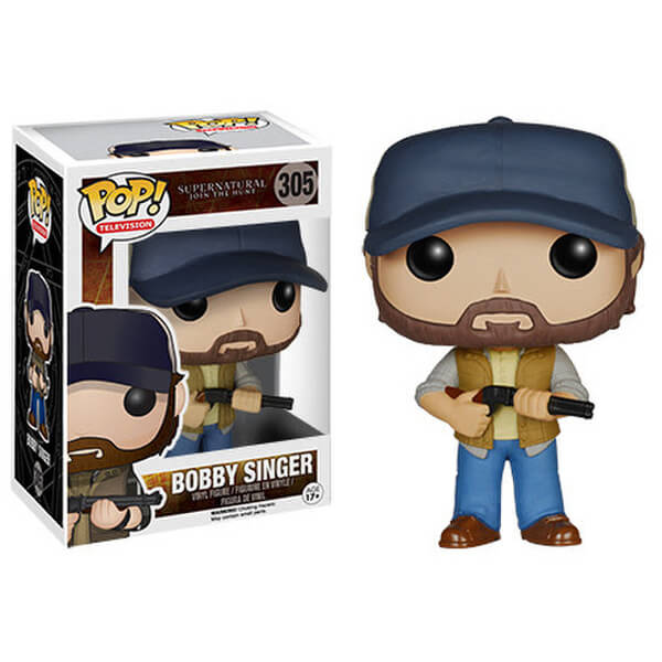 Figurine Pop! Bobby Singer Supernatural