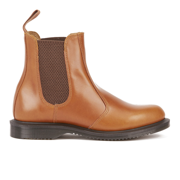 dr martens women 39 s kensington flora aniline leather chelsea boots oak womens footwear. Black Bedroom Furniture Sets. Home Design Ideas