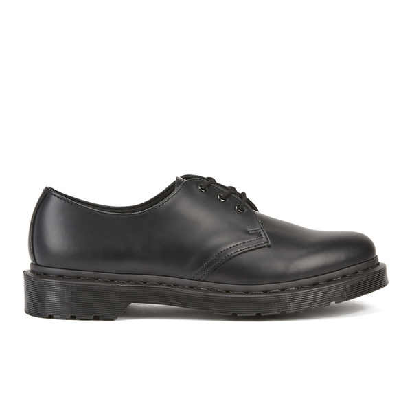 Dr. Martens Women s 1461 Mono Smooth Leather 3-Eye Shoes - Black ... 3c78119584