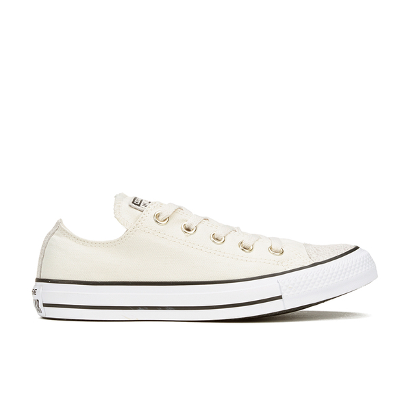 1b432d44c534 Converse Women s Chuck Taylor All Star Oil Slick Toe Cap Ox Trainers -  Egret Black