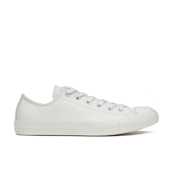 4e489ebfdf7de2 Converse Men s Chuck Taylor All Star Mono Craft Leather Ox Trainers -  Mouse  Image 1