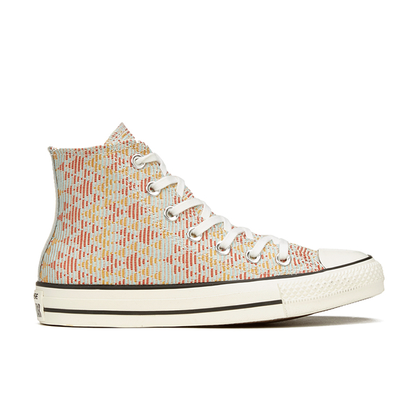 322eff70a563 Converse Women s Chuck Taylor All Star Raffia Weave Hi-Top Trainers -  Converse Natural Brake Lights