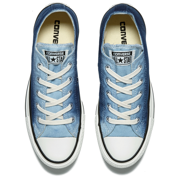 6bee1353d130 Converse Women s Chuck Taylor All Star Sunset Wash Ox Trainers - Ambient  Blue Egret