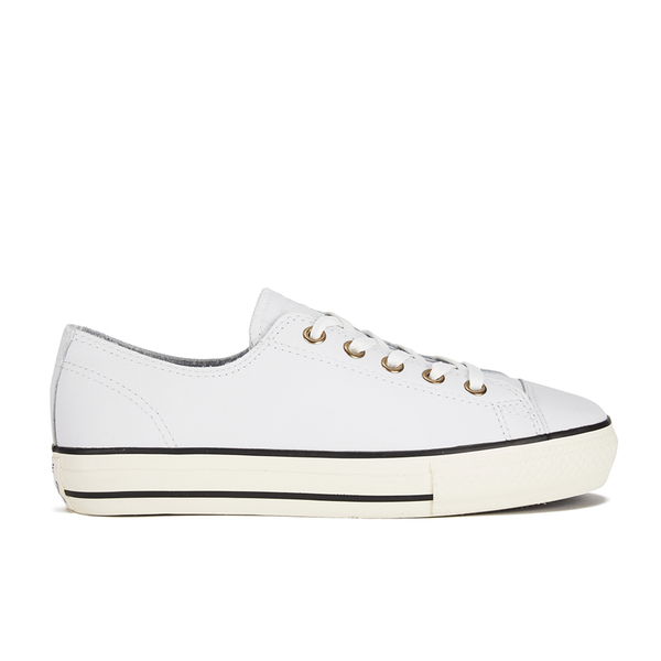 0f9d42d85ee7 Converse Women s Chuck Taylor All Star High Line Craft Leather Flatform Ox  Trainers - White