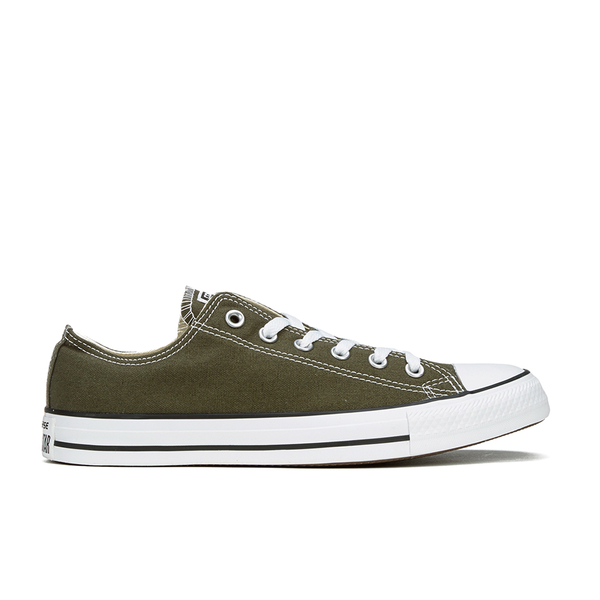 Converse Men's Chuck Taylor All Star Ox Trainers - Herbal/White/Black: Image