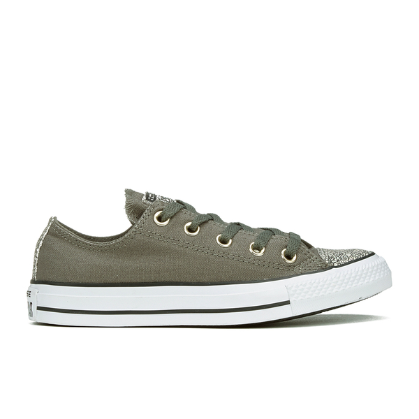 b8c18461e836 Converse Women s Chuck Taylor All Star Oil Slick Toe Cap Ox Trainers -  Charcoal Egret