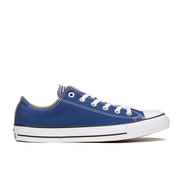 72451594e7c62b Converse Unisex Chuck Taylor All Star Ox Trainers - Roadtrip  Blue White Black