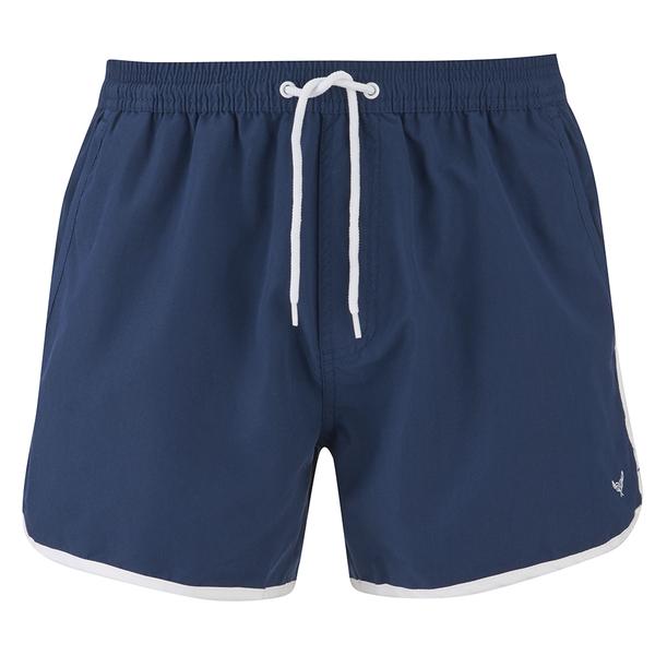 Threadbare Men's Swim Shorts - Navy