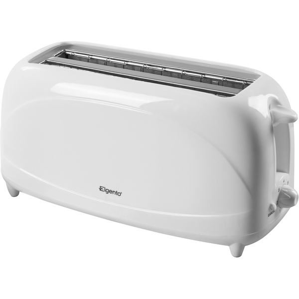 Elgento E20011 4 Slice Toaster - White