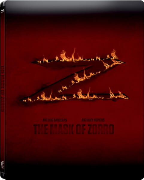 The Mask of Zorro - Zavvi Exclusive Limited Edition Steelbook (UK EDITION)