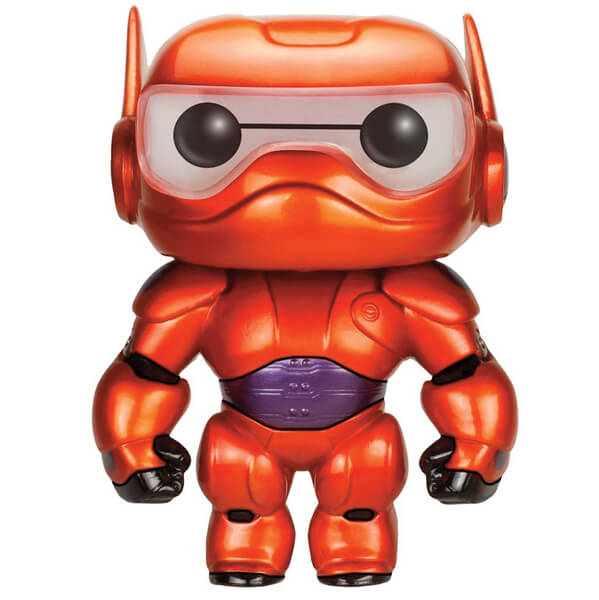 Big Hero 6 Baymax  6 inch Metallic Pop! Vinyl  Figure
