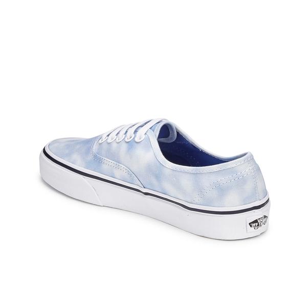 1b964391c2c410 Vans Women s Authentic Tie Dye Trainers - Palace Blue  Image 5
