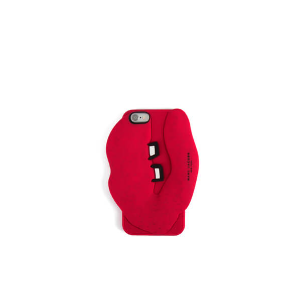 Marc Jacobs Women s Silicone Lips iPhone 6 6S Case - Red - Free UK Delivery  over £50 d5e17fc6c