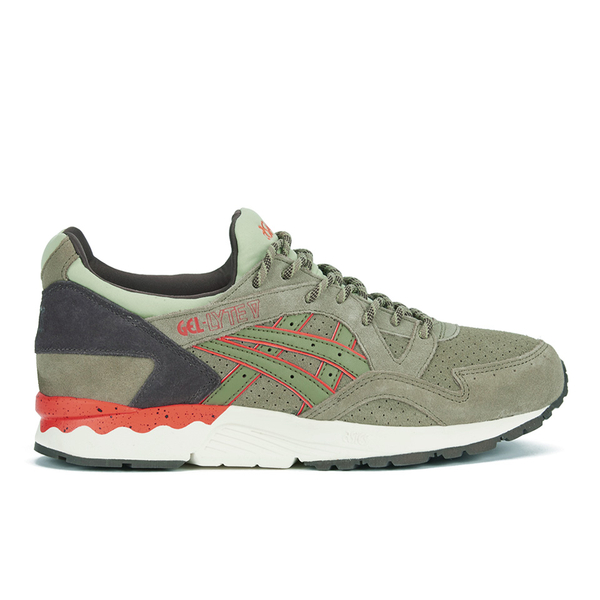 Asics Lifestyle Men's Gel-Lyte V Scorpion Pack Trainers - Light Olive:  Image 1