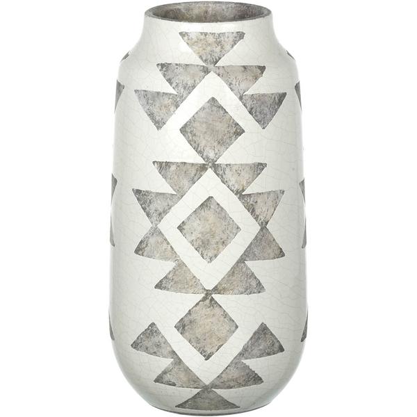 Parlane Lopez Ceramic Vase - Cream (420mm x 220mm)