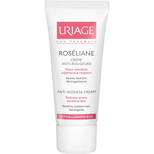 Uriage Roseliane Anti-Redness Cream (40ml) Shiseido Men Deep Cleansing Scrub 4.5oz  125ml