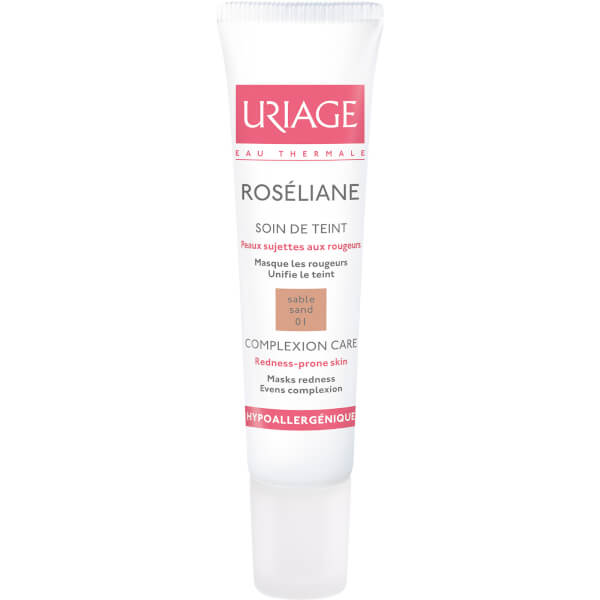 Maquillaje Antienrojecimiento Uriage Roséliane Treatment - Tono Sand (15ml)