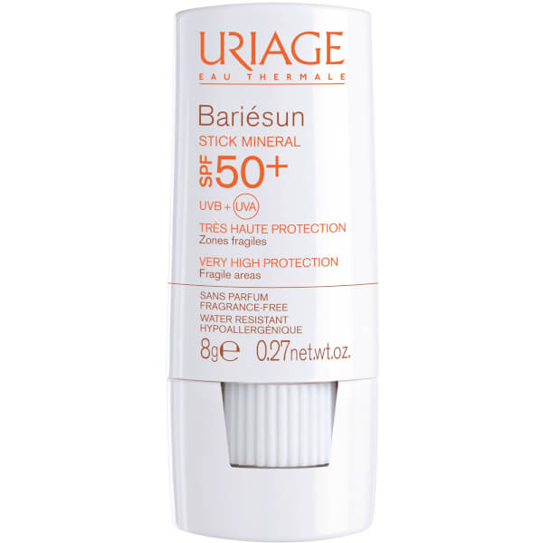 Protector Solar en Stick FPS50+Uriage Bariésun Mineral (8g)