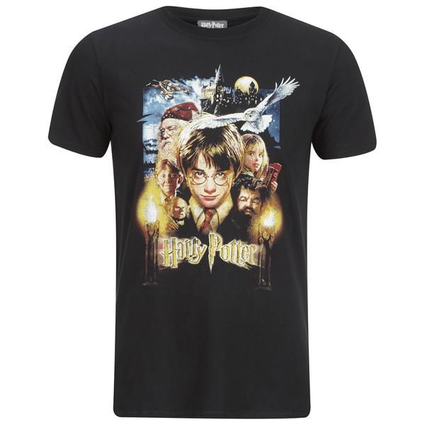 Harry Potter & Friends Men's T-Shirt - Black