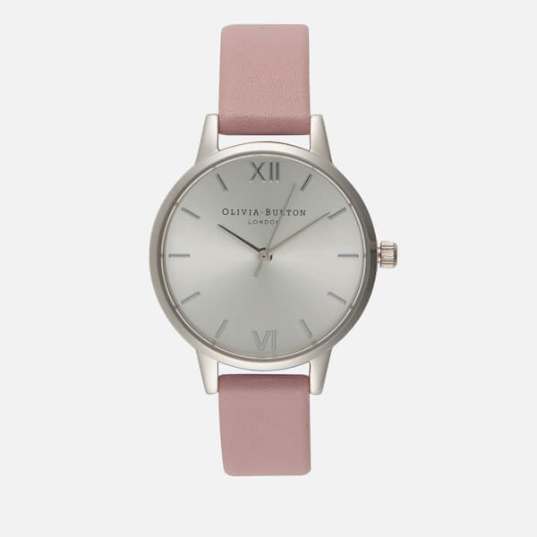 Olivia Burton Women's Midi Dial Watch - Dusty Pink/Silver