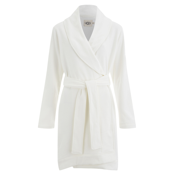 UGG Women\'s Blanche Dressing Gown - Cream - Free UK Delivery over £50