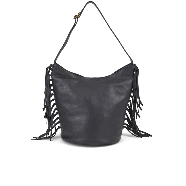 UGG Women's Lea Leather Hobo Bag - Black