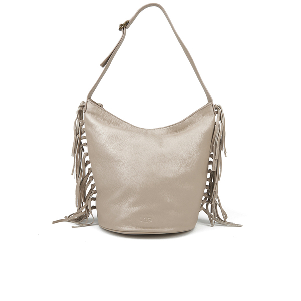 UGG Women's Lea Leather Hobo Bag - Taupe