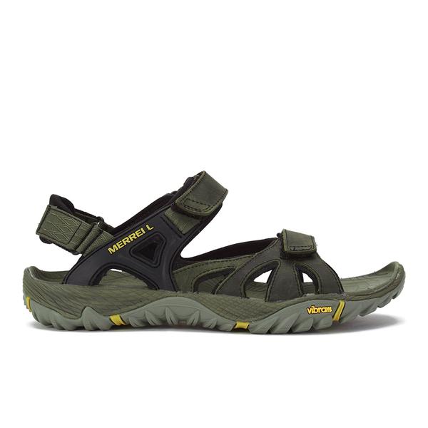 e2648e0b5e7d Merrell Men s All Out Blaze Sieve Convertible Sandals - Olive Sports ...
