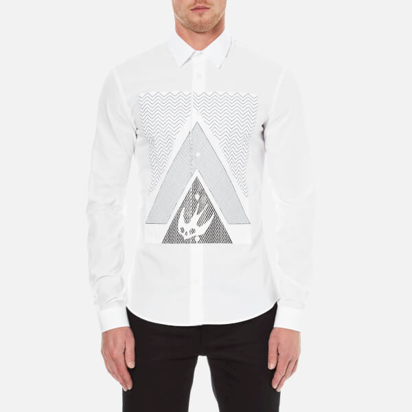 McQ Alexander McQueen Men's Googe Shirt - Optic White