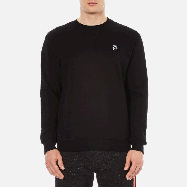 McQ Alexander McQueen Men's Coverlock Crew Sweatshirt - Darkest Black