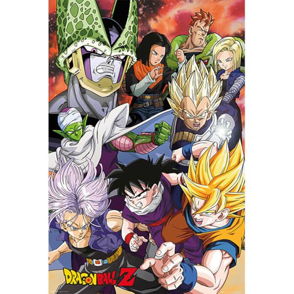 Dragon Ball Z Cell Saga - 24 x 36 Inches Maxi Poster