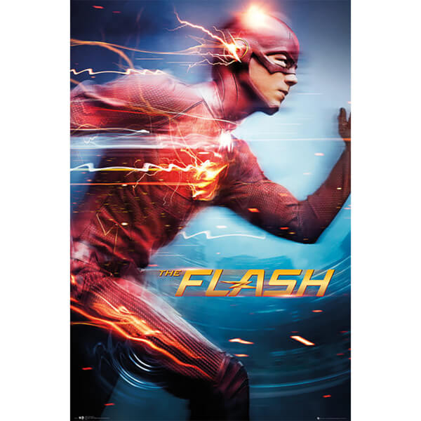 DC Comics The Flash Speed - 24 x 36 Inches Maxi Poster