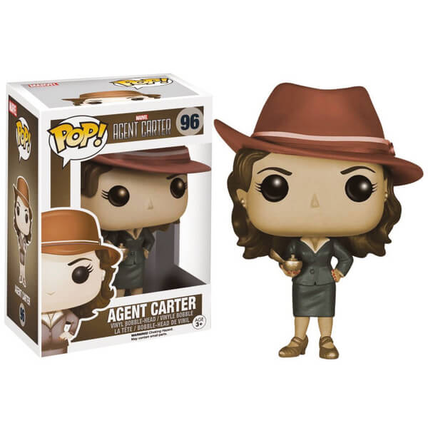 Marvel Agent Carter Sepia Exclusive Pop! Vinyl Figure