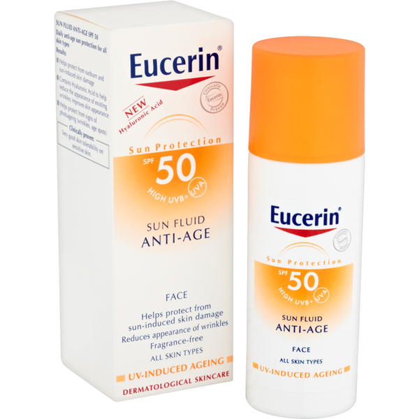 Eucerin ? Protection Solaire FacialeSun Fluid Face SPF 50 50ml