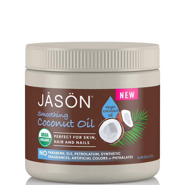 JASON Smoothing Organic Coconut Oil 443ml