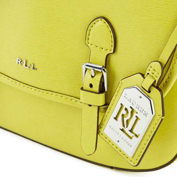 a92d3d11c2 Lauren Ralph Lauren Women s Messenger Bag - Citron  Image 3