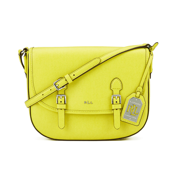 fa3433a087 Lauren Ralph Lauren Women s Messenger Bag - Citron  Image 1