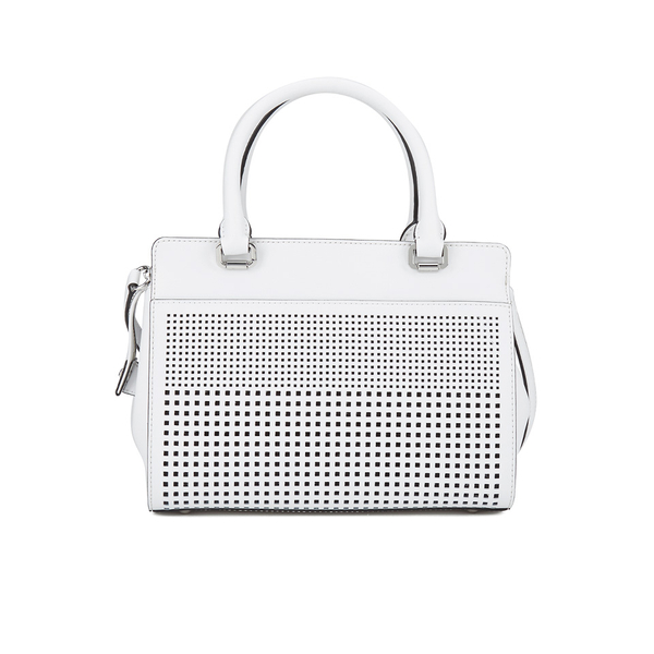 cfdadc538d Lauren Ralph Lauren Women s Yolanda Convertible Satchel Bag - Bright White   Image 5