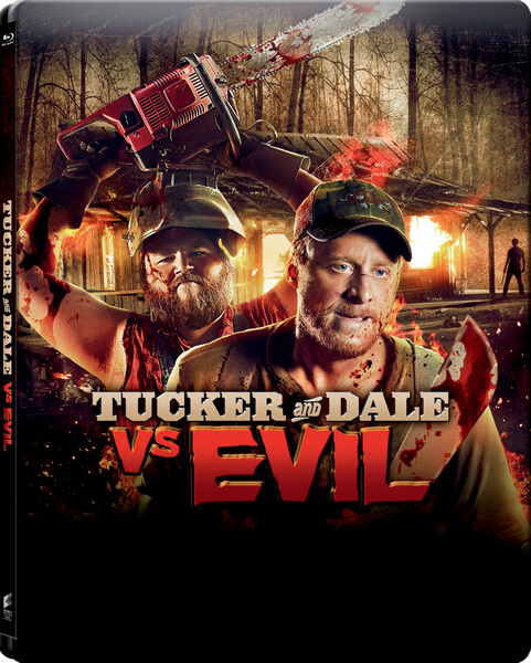 Tucker and Dale Vs. Evil - Zavvi Exclusive Limited Edition Steelbook (Limited to 2000)