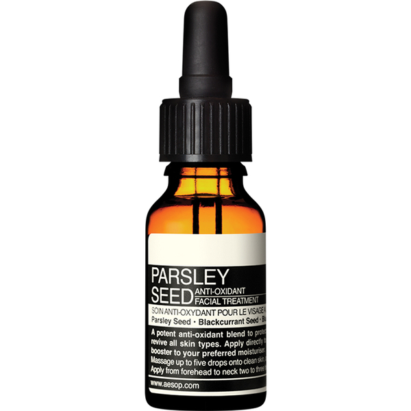 Aesop Parsley Seed Anti-Oxidant Facial Treatment 15ml
