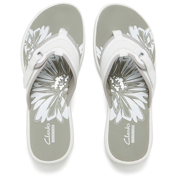 clarks mila flip flops
