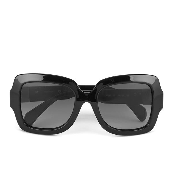Valentino Women\'s Rockstud Oversized Square Frame Sunglasses - Black