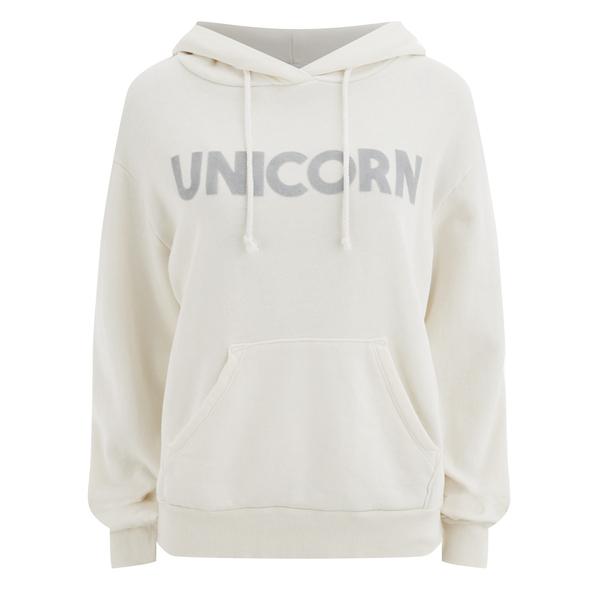 Wildfox Women's Unicorn Cuddles Hoody - Pearl