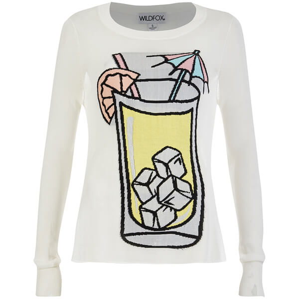 Wildfox Women's Piper Sunspiked Sweatshirt - Pearl