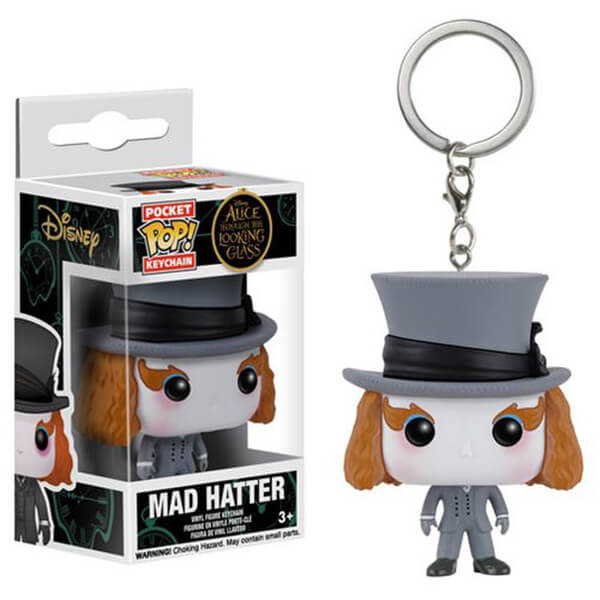 Alice Through the Looking Glass Mad Hatter Pocket Pop! Key Chain