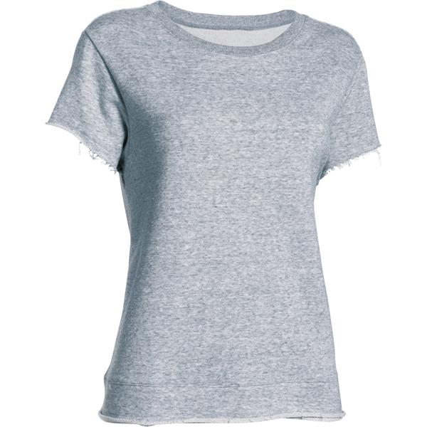 Under Armour Women's Studio Boxy Crew T-Shirt - Grey