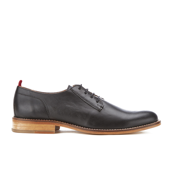 Oliver Spencer Men's Dover Shoes - Black Leather