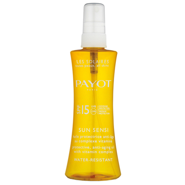 PAYOT Sun Sensi Protective Anti-Ageing Oil SPF 15 125ml
