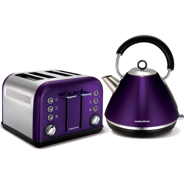 Morphy Richards Bbq: Morphy Richards Accents 102020 1.5L Pyramid Kettle And