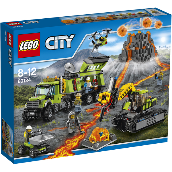 LEGO City: La base d'exploration du volcan (60124)